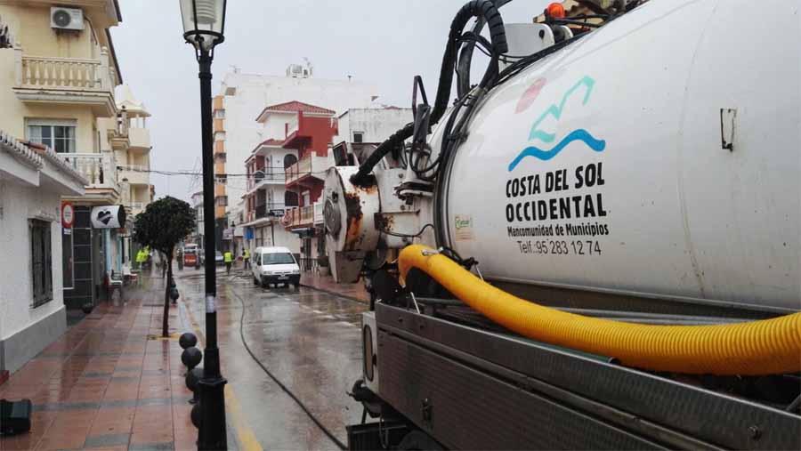 Mancomunidad Mancomunidad Acosol ha realizado múltiples intervenciones en varios municipios debido a las fuertes lluvias