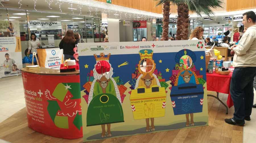 Mancomunidad Mancomunidad La Mancomunidad pone en marcha una novedosa campaña para fomentar el reciclaje en Navidad