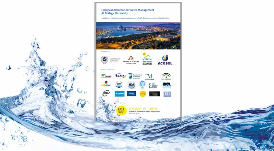 Mancomunidad Mancomunidad Acosol organiza el Seminario de Gestión Europea del Agua que se celebrará en marzo en Málaga