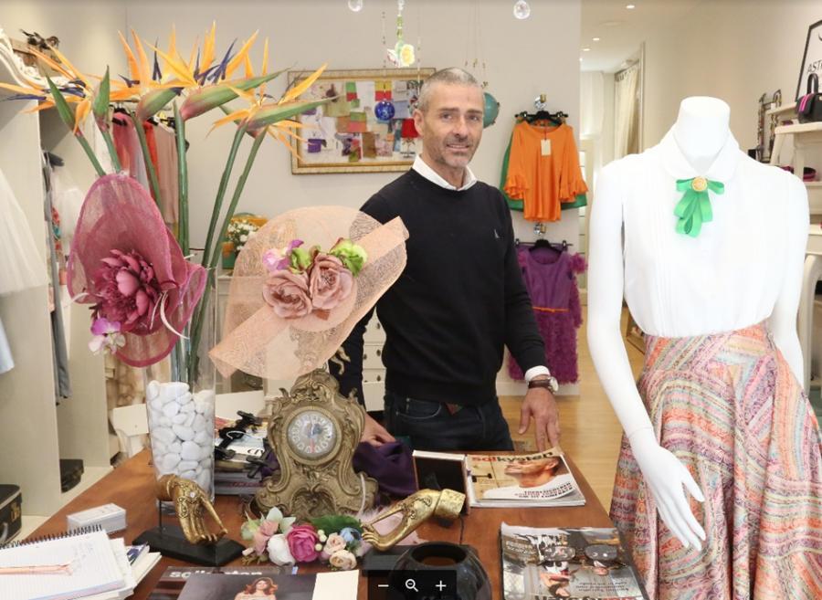 Gente Gente El diseñador Agustín Torralbo abre tienda en Fuengirola