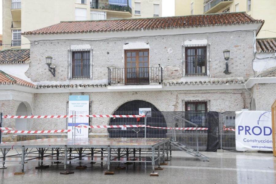 Torremolinos Torremolinos Las obras del Mercado Gourmet costarán 65.000 euros más por unas deficiencias estructurales detectadas en el edificio en riesgo de desplome