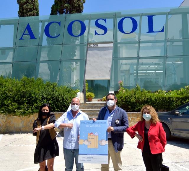 Mancomunidad Mancomunidad Acosol dona 1.000 euros a Bancosol a través de su Campaña Solidaria