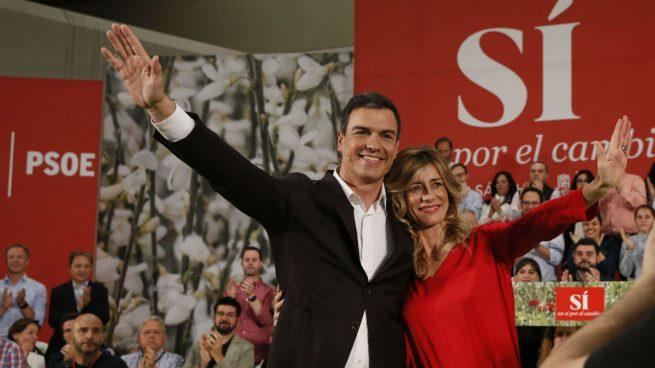 _old Vergonzoso La mujer de Pedro Sánchez es socia y dirige una empresa de 'empleo basura': 400€ al mes por 8 horas al día