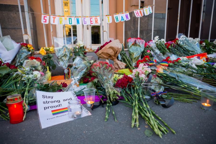 News News A response to the massacre in Orlando: LGBT people will not be silenced