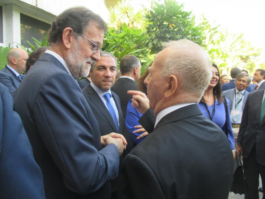 Torremolinos Fotos Baile Pedro  Fernandez Montez  recibe a Mariano Rajoy en Torremolinos