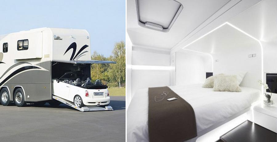 Vergonzoso Vergonzoso Las 5 caravanas más grandes, lujosas y caras del mundo