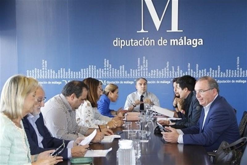 Málaga Málaga Diputación aprueba proyectos de obras en 15 municipios por 1,7 millones de euros en Málaga