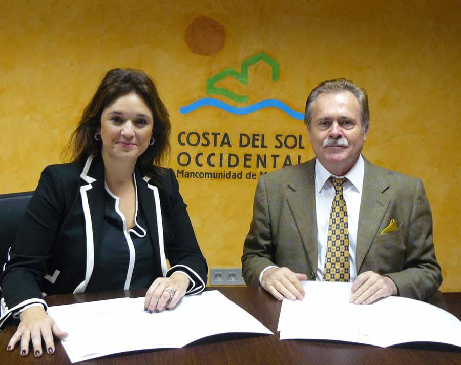 Málaga Málaga La Mancomunidad y el Colegio de Secretarios, Interventores y Tesoreros firman un convenio de colaboración