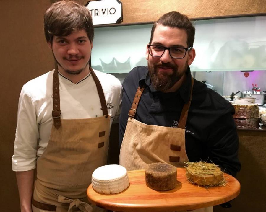 """Restaurantes Restaurantes Jesús Segura, el restaurante Trivio y los """"quesos"""" sin leche"""