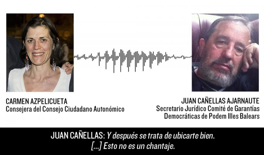 Actualidad Noticias Dimite Joan Canyelles, el hombre que silencia a los críticos de Podemos
