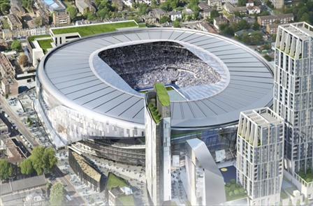 Deportes Deportes Absolutamente espectacular: Así será el nuevo estadio del Tottenham