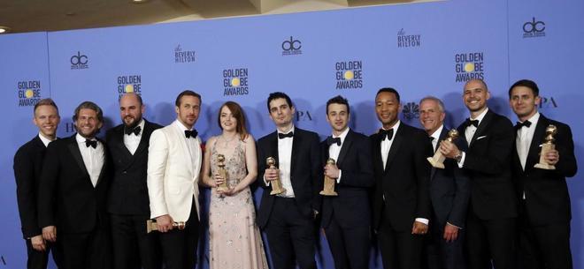 Cultura Cultura Los Globos de Oro se rinden ante la magia de 'La La Land'