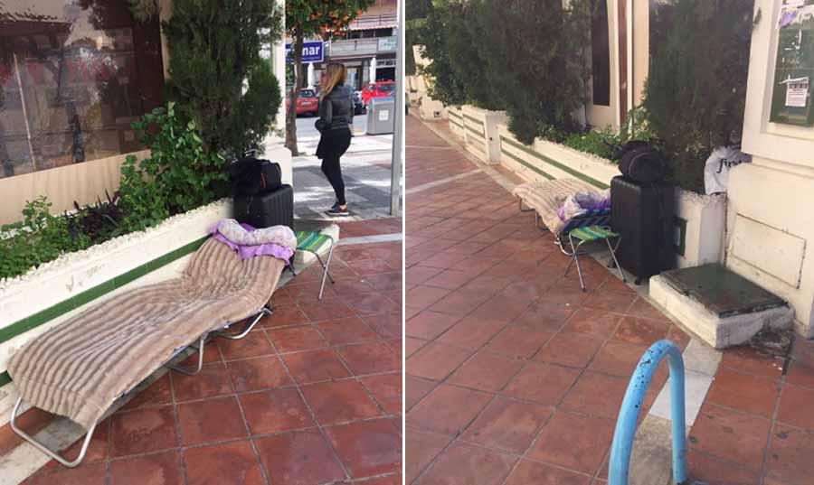 Torremolinos Torremolinos Pasividad en el Ayuntamiento de Torremolinos ante los casos de personas sin hogar que viven en la calle