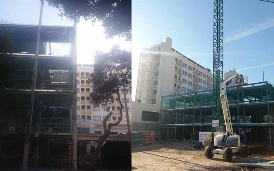 Torremolinos Torremolinos Vecinos de la Carihuela indignados con la ampliación del hotel Pez Espada