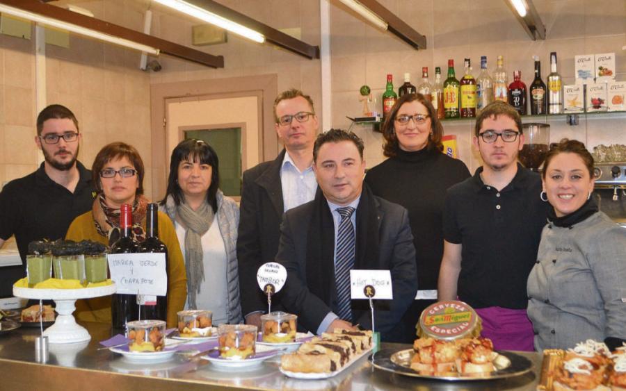 Restaurantes Restaurantes Ocho restaurantes prepararán tapas con arte en Alcorisa