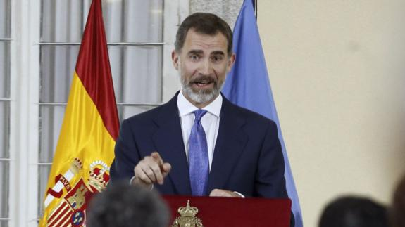 España España El Rey insta a que España responda «más y mejor» ante la crisis de los refugiados