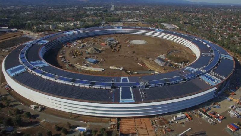Tecnología Tecnología Las exigencias de Apple están convirtiendo la construcción de su nueva sede en una auténtica pesadilla