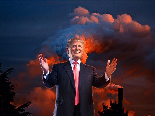 Ecologia Ecologia Trump planea reducir en un 70% los fondos para combatir el cambio climático