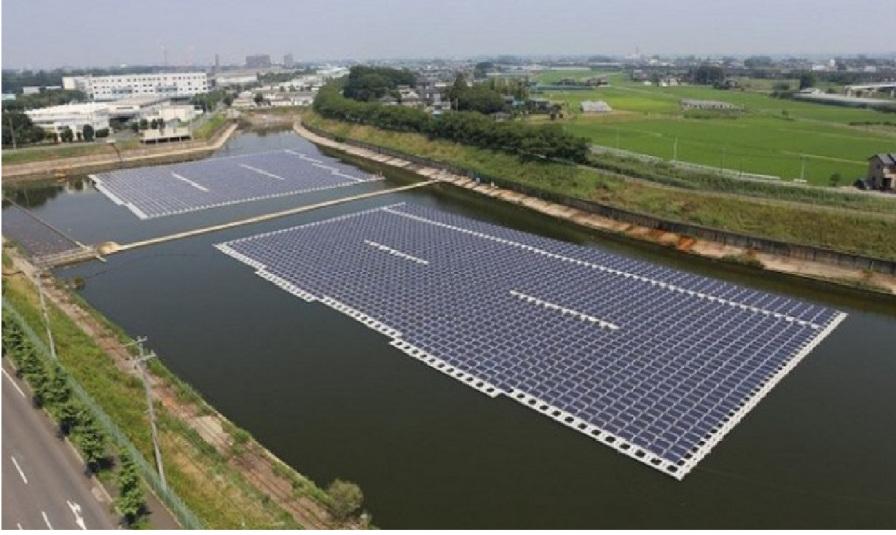 Ecologia Ecologia Sostenible : Japón construye planta solar sobre agua