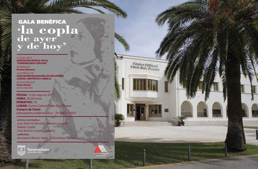 Torremolinos Torremolinos La gala benéfica 'La copla de ayer y hoy' recaudará fondos contra la ELA en Torremolinos