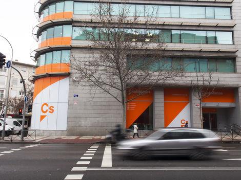 Actualidad Noticias El PP pide en el Senado que se investigue el alquiler de la sede de Ciudadanos