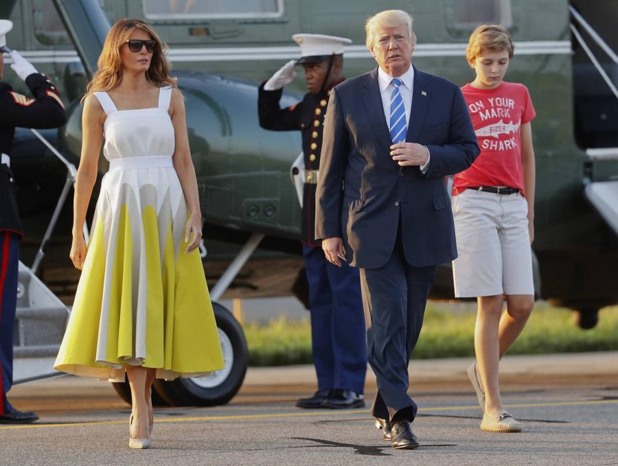 Moda Moda Mujer Melania Trump se viste (otra vez) de Delpozo