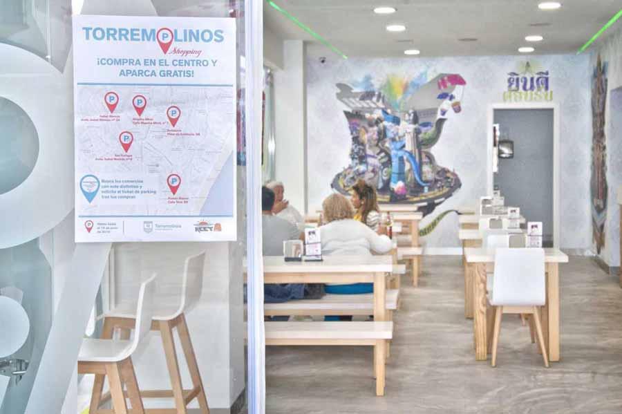 Torremolinos Torremolinos Aparcamiento gratuito por comprar en Torremolinos: Una forma de apoyar al comercio local