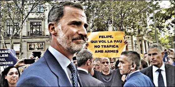 Actualidad Noticias Este es el hijo de puta proetarra que más insultó al Rey de España en la marcha de la 'unidad'