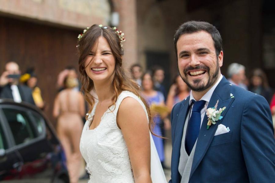 Actualidad Noticias La boda por todo lo alto de Alberto Garzón