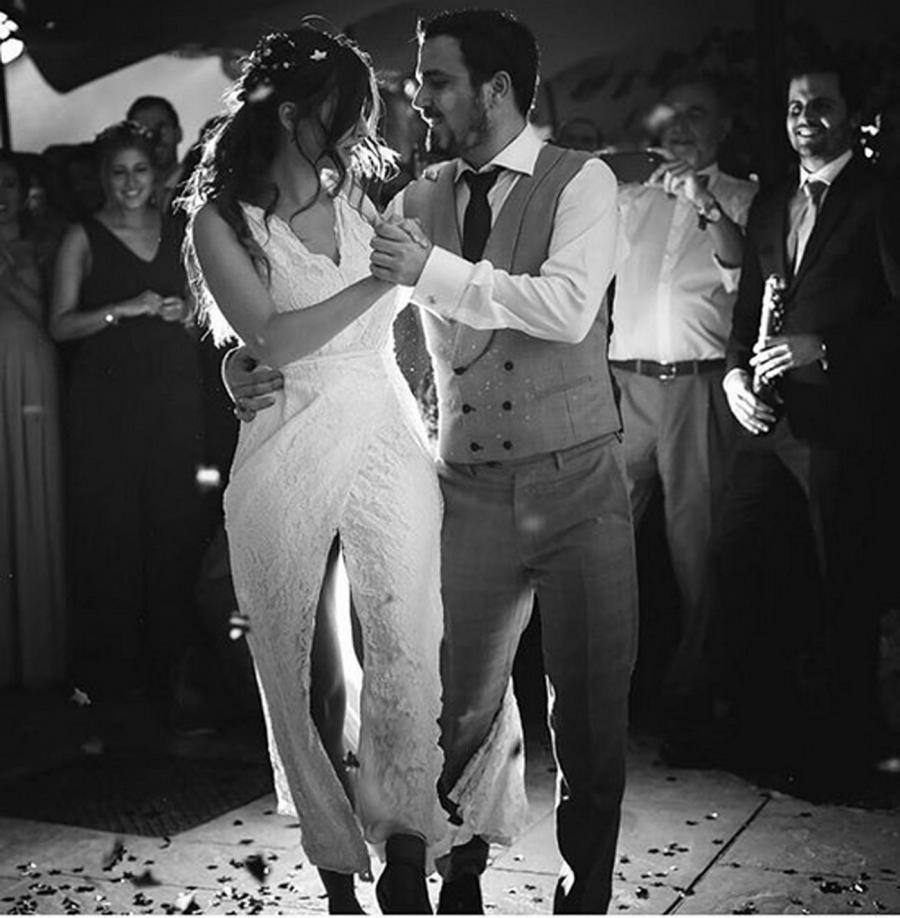 Actualidad Noticias Así fue la boda de Alberto Garzón y Anna Ruiz