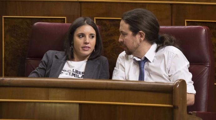 Actualidad Noticias La crisis con su portavoz Irene Montero motivo del bajón anímico de Iglesias