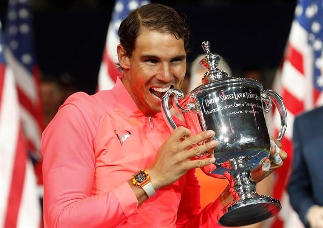 Deportes Deportes Nadal se hace más grande con su tercer US Open