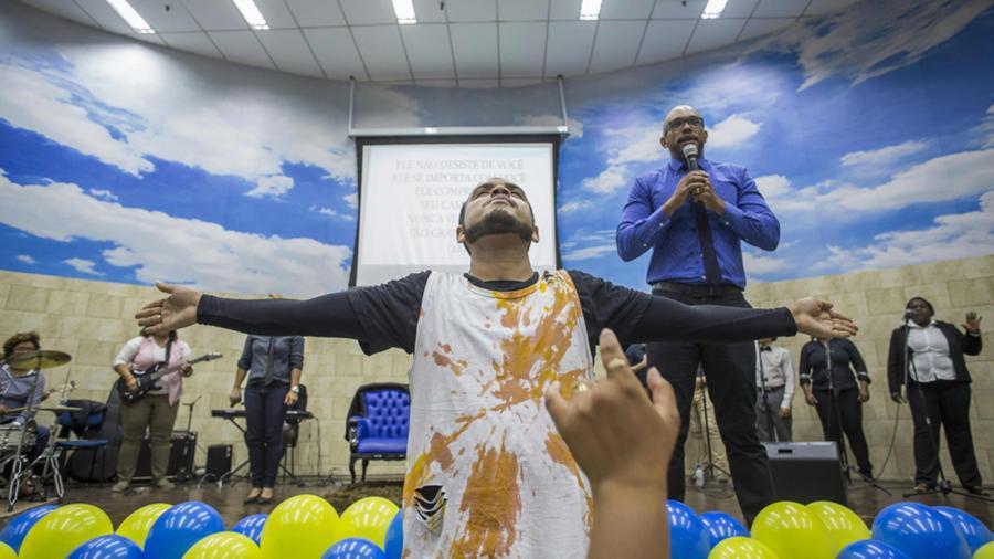 Gays Gays El templo cristiano que recibe a la comunidad gay de Rio de Janeiro