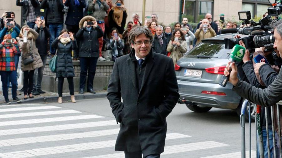 Actualidad Noticias Puigdemont vuelve a Barcelona desde Bruselas