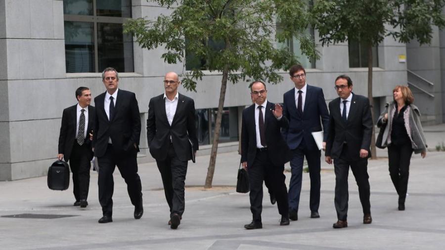 Actualidad Noticias La juez decreta prisión incondicional para todo el Govern cesado menos para Vila
