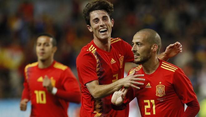Deportes Deportes España gana, convence y se divierte