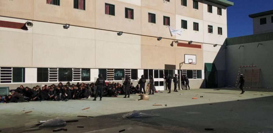 Málaga Málaga Interior vacía la cárcel de Archidona y manda a los últimos inmigrantes a otros centros