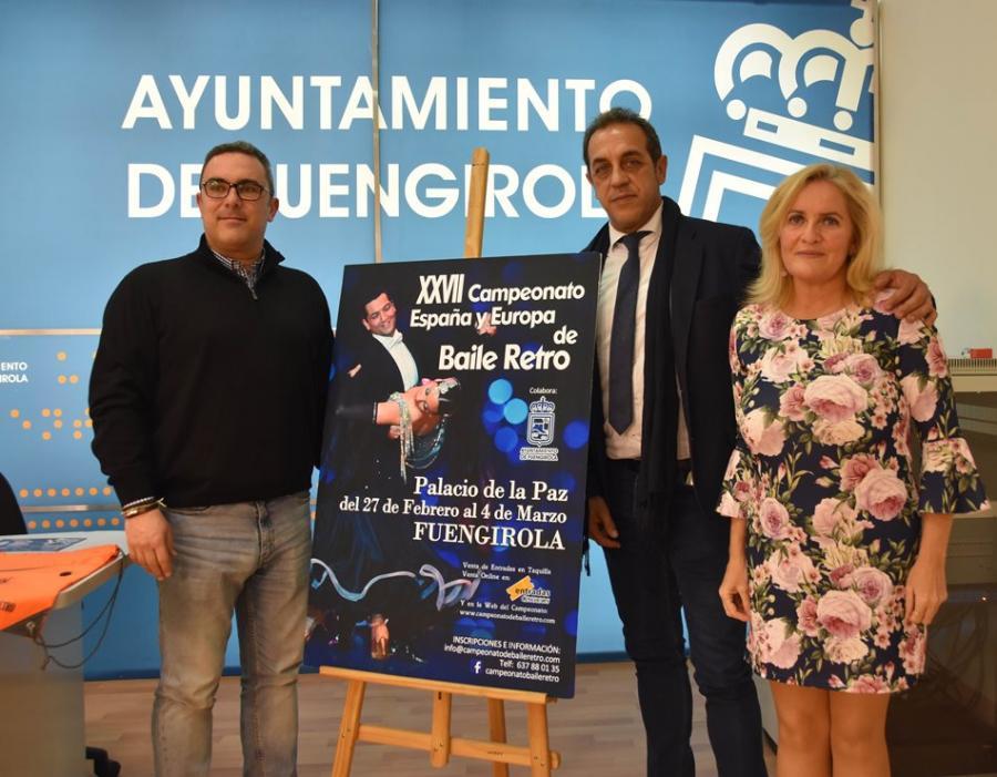 Torremolinos Torremolinos Más de 600 bailarines inscritos en el XXVII Campeonato de España y de Europa de Baile Retro de Fuengirola
