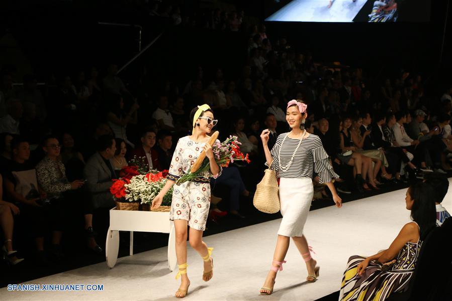 Moda Moda Mujer Semana Internacional de la Moda de Vietnam Primavera/Verano 2018
