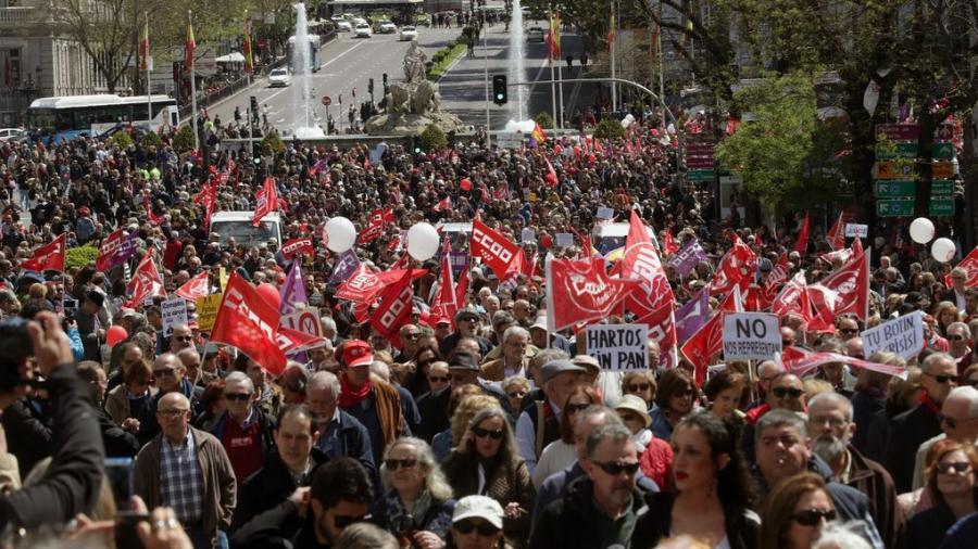Actualidad Noticias 'Pinchazo' de los sindicatos en las marchas del 1 de mayo tras su apoyo al secesionismo