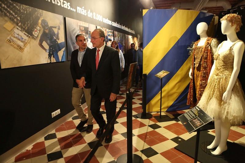 Málaga Málaga La Térmica refleja en una exposición el proceso creativo de 'Totem', el próximo espectáculo de Cirque du Soleil que visitará Málaga