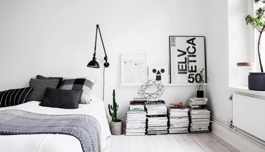 6 tips para decorar con blanco y negro tu dormitorio - Diario de ...