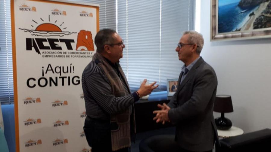 Torremolinos Torremolinos Juan Vallejo, de presidente de la ACET salpicado por la polémica a candidato de Ciudadanos en Torremolinos