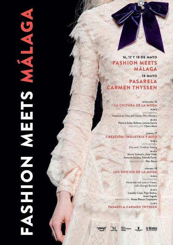 Moda Moda Mujer 'Fashion Meets Málaga' comienza mañana con mesas de debate, un desfile de diseñadores locales y proyecciones