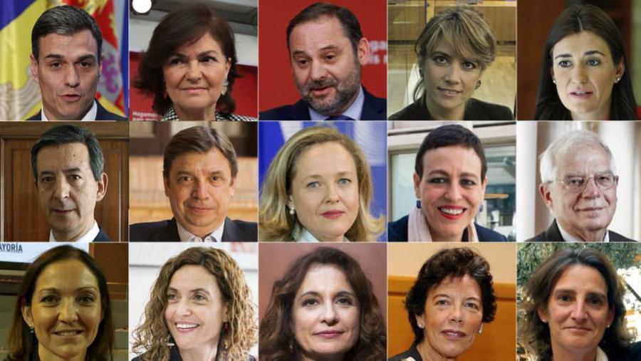 Actualidad Noticias Los ministros del Gobierno de Pedro Sánchez