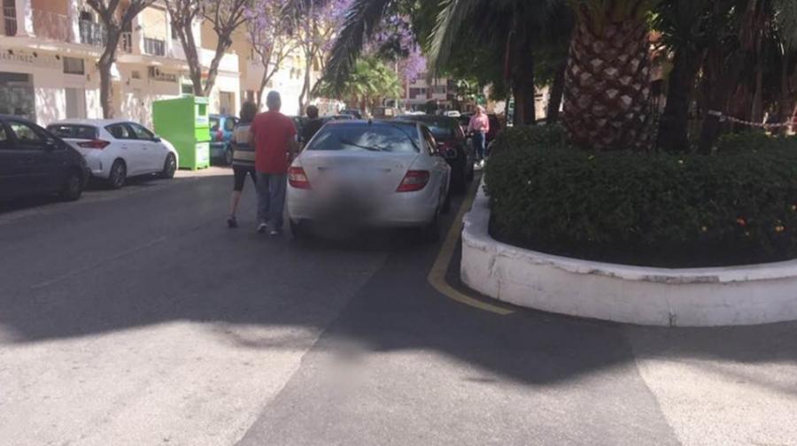 Torremolinos Torremolinos El equipo de Margarita del Cid critica la pasividad del socialista Ortiz frente a un grave problema de seguridad peatonal en la calle Cruz