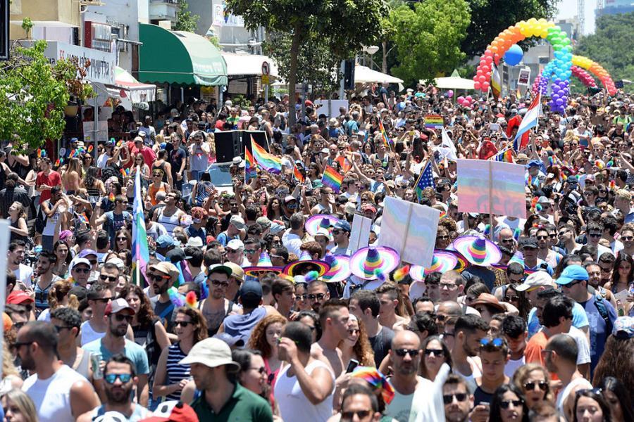 Gays Gays Tel Aviv celebra la mayor Marcha del Orgullo Gay de Oriente Medio