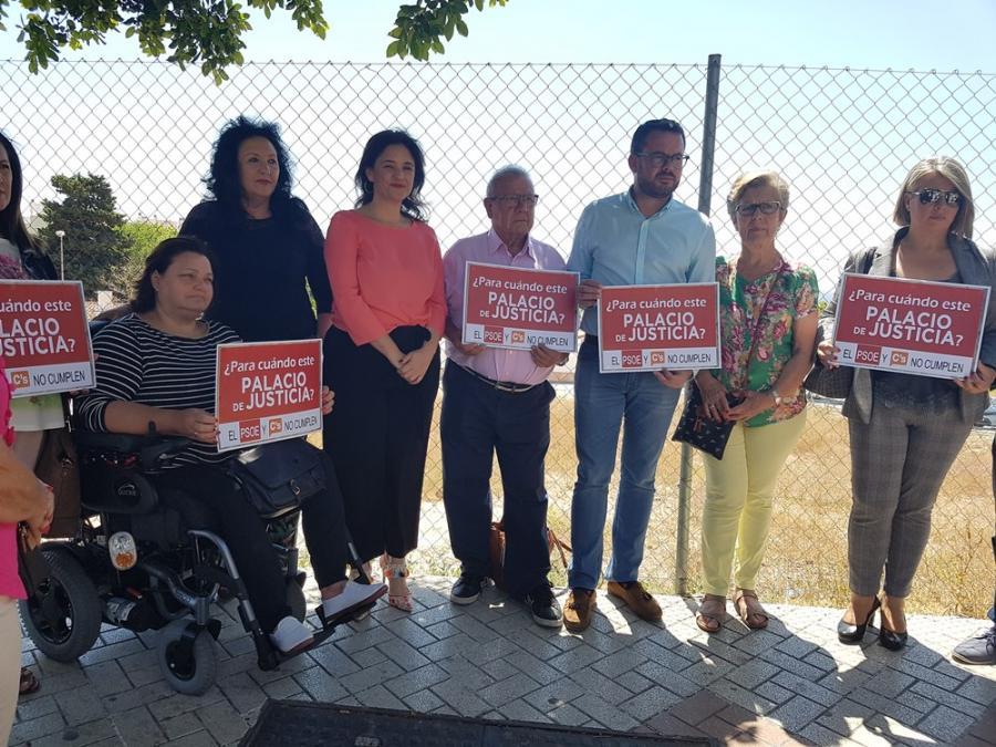 Torremolinos Torremolinos Estacazo de la Junta y Ortiz: Margarita del Cid vuelve a reclamar el Palacio de Justicia de Torremolinos tras trece años de retraso