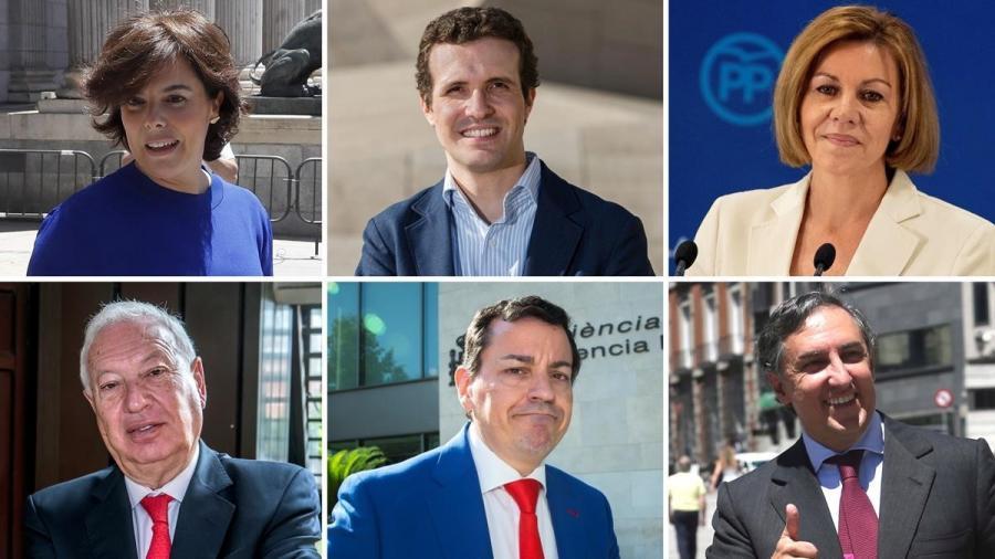 Actualidad Noticias Quién es quién en la batalla por la sucesión de Rajoy en el PP