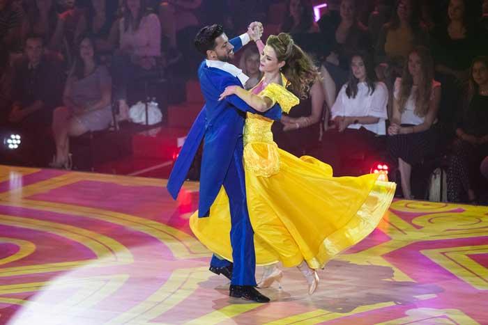 Baile Baile 'Bailando con las estrellas': Amelia Bono protagoniza un gran momento con Manuel Martos
